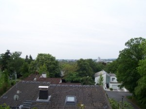 View towards Frankfurt