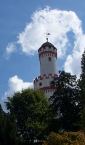 The White Tower in Bad Homburg