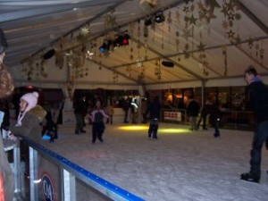 The ice rink in Bad Homburg